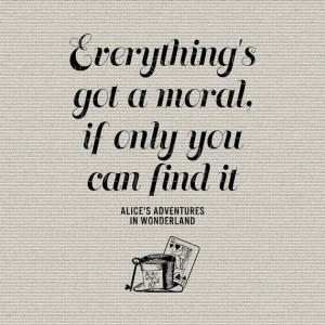 Alice In Wonderland Quote Typography Wall Decor Art Printable Digital ...