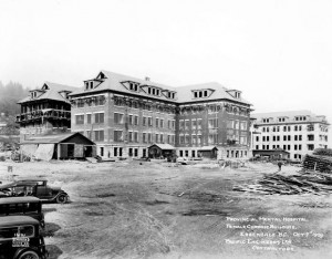 ... Psychiatric Hospital at Colony Farm. (City of Vancouver Archives
