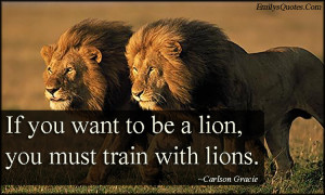 Motivational Quotes with Lions