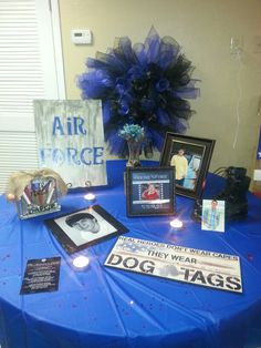air force going away party decor more birthday parties air force june ...