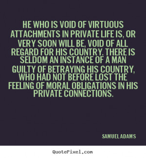 Quotes About Feeling Lost In Life Samuel adams picture quotes