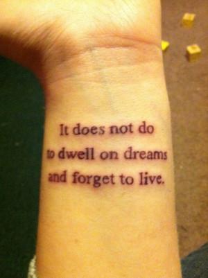 Top Twenty Literary Quote Tattoos