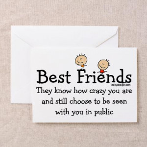 cafepress.comBest Friends Greeting Card