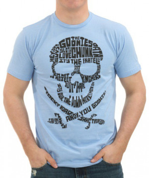 Goonies Quote Skull Logo T-Shirt