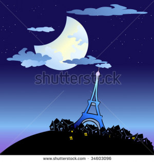 vector-vector-illustration-of-the-eiffel-tower-built-by-gustave-eiffel ...