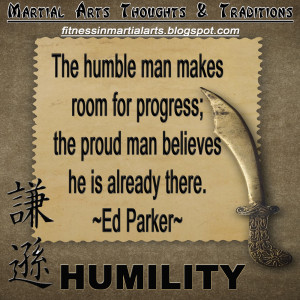 Humility Quotes When i think of humility,