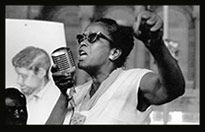 Civil Rights pioneer, Ella Baker