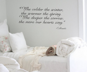 Bambi Quote Wall Decal