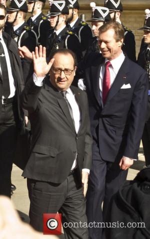 Francois HOLLANDE French President Francois Holland arrives in