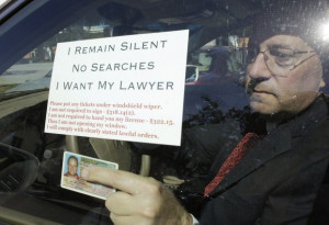 ... video spark debate about motorist rights at police DUI checkpoints