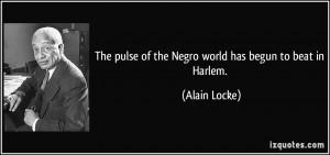 More Alain Locke Quotes