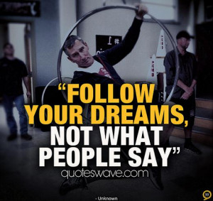 Related Pictures funny follow your dreams quote