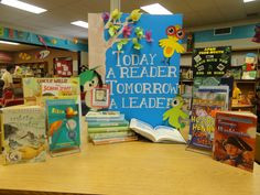 Leader in Me library display! For the Myrtle Beach Intermediate Covey ...