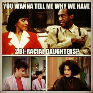 ... for this image include: cosby show, funny, lmao, lol and mixed race