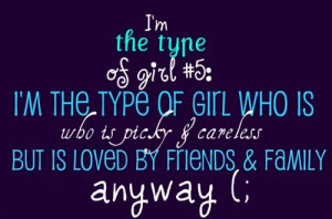 the type of girl #5