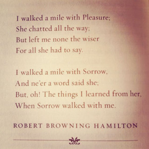 Robert Browning Hamilton.: The Roads, Poems Quotes, Life, Sorrow Poems ...