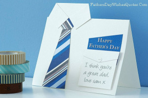 Happy Fathers Day Card Sayings Quotes for Best Dad Ever with Image