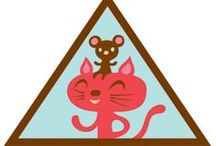 Making Friends Girl Scout Brownie Badges
