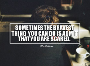 Quotes Scared