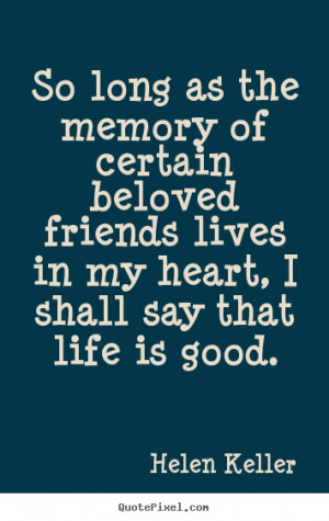 quotes about friendship and memo...