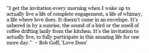 ... Quotes, Complete Engagement, Bobs Goff, Quotes Words, Favorite Quotes