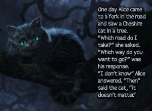 cheshire cat - alice in wonderland