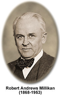 a biography and life work of robert andrews millikan an american physicist About physicist who became the second american to win the nobel prize for physics in 1923 for his work measuring the charge of the electron he coined the term cosmic rays to describe radiation of extraterrestrial origins.