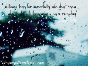 rainy weather quotes