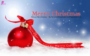 Happy New Year Wishes with Merry Christmas Wishes Quote Card