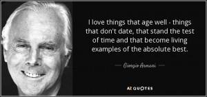 Giorgio Armani Quotes