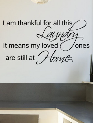 Decals Quotes, Quotes Vinyls, Wall Decal, Room Quotes, Laundry Room