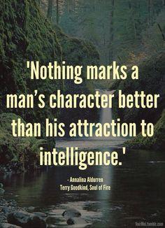 ... intelligence.