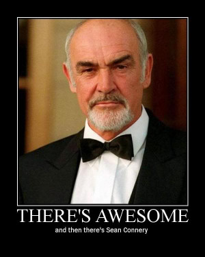 There's Awesome And Then There's Sean Connery