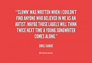 Clown Quotes and Sayings