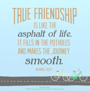 Lds Quotes On Friendship Lds on friendship
