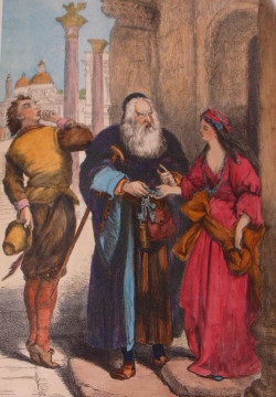 merchant of venice shylock and jessica relationship