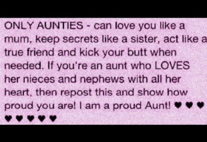 Proud Aunt Quotes http://www.pic2fly.com/Proud+Aunt+Quotes.html