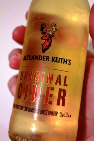 Alexander Keith 39 s Original Cider Apparently more on the processed