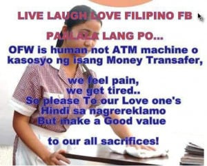 432353 464806586894340 1248822225 n OFW QUOTES : Buhay abroad