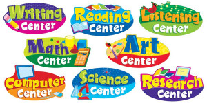 Free Classroom Center Signs for Preschool