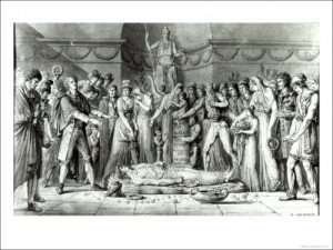 The Funeral of Jean Paul Marat