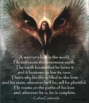 Carlos Castaneda - A Warrior's Love