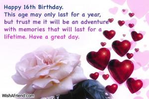 Verwandte Suchanfragen zu Sweet 16 birthday wishes