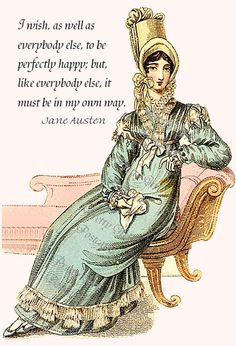 Jane Austen Quote from Sense and Sensibility by prettygirlpostcards, $ ...