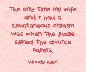 quote #woody Allen #divorce Get your FREE After Divorce Toolkit here ...