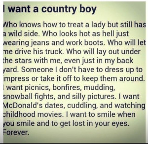 ... girl and country boy aww country boy country boys quotes country boys