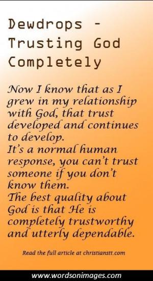 Famous trust quotes
