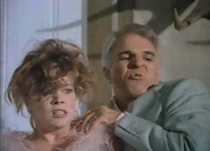 ... to the ground in the motion picture The Man with Two Brains (1983