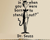 The whimsical world of Dr Seuss.