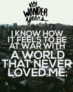 ... music lyrics the wonder year lyrics the wonder years lyrics